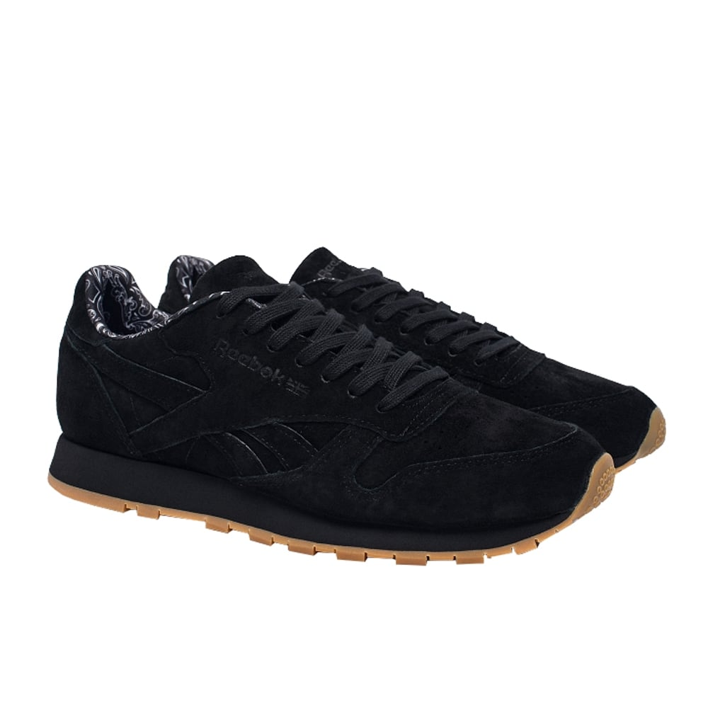 reebok classic suede gum sole trainers