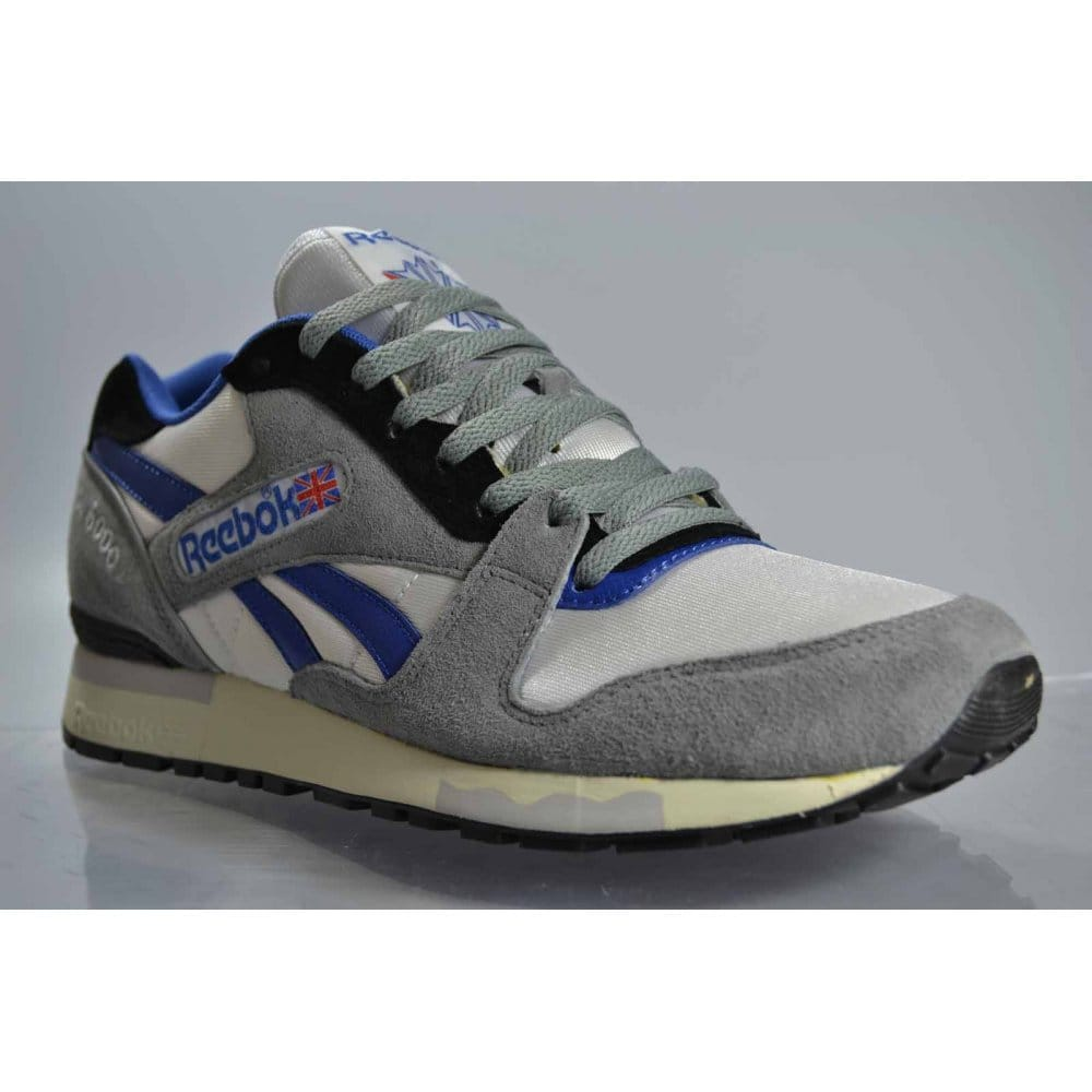 reebok reebok gl 6000 flat grey white reebok from natterjacks uk. Black Bedroom Furniture Sets. Home Design Ideas