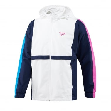 LF Vintage Track Top - White