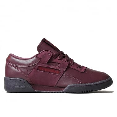 Workout Low Clean 'Burgundy Pack' - Maroon/Burgundy