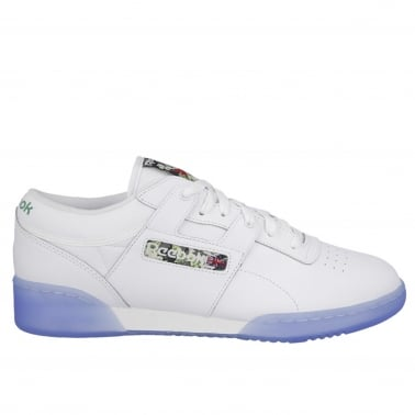 Workout Low Clean - White/Ice