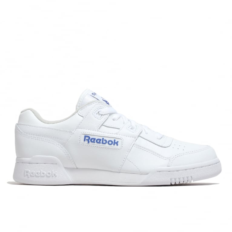 Reebok Workout Plus - White/Royal