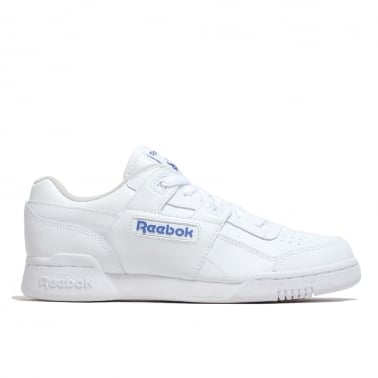 Workout Plus - White/Royal