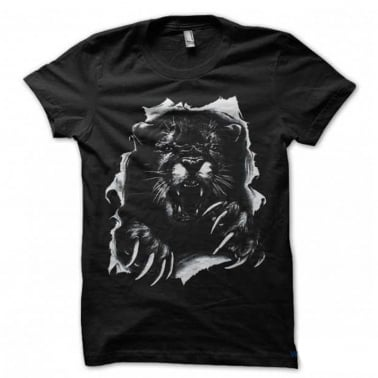 Beyond Cougar T-Shirt - Black