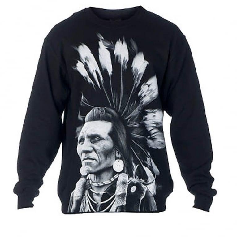 Rook Chief Crewneck Sweatshirt - Black