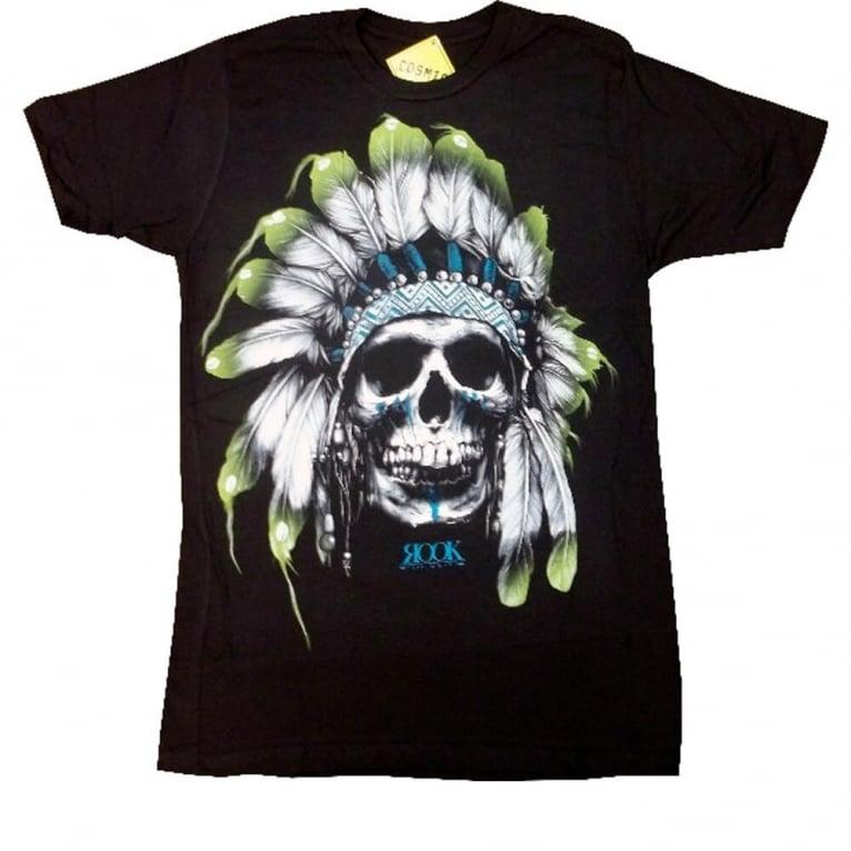 Rook Chief Skull T-shirt - Black