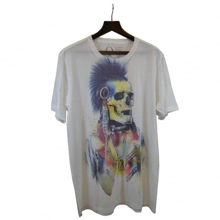 Rook Cosmic Chief Tee White