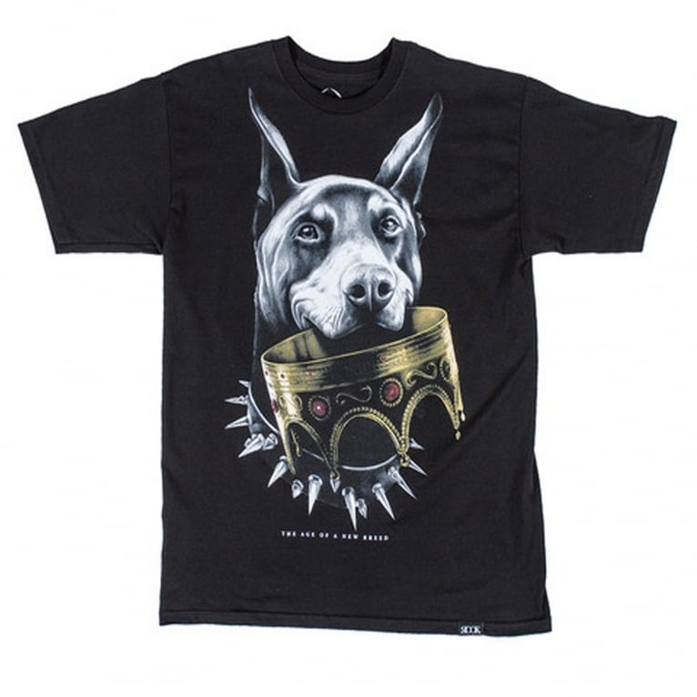 Rook Doberman V2 T-Shirt - Black