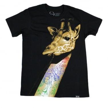 Neck Tat T-shirt - Black