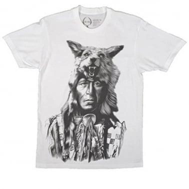 Running Wolf T-shirt - White