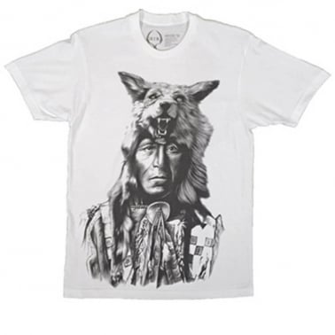 Running Wolf T-shirt - White