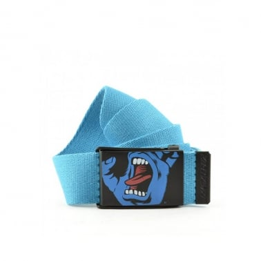 Screaming Hand Belt - Blue