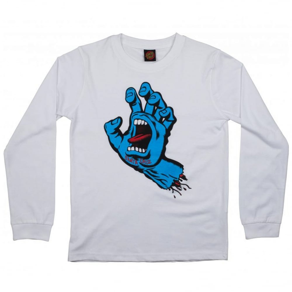2c121e57 Santa Cruz Screaming Hand Long Sleeve | Clothing | Natterjacks