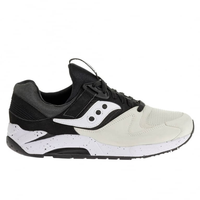 Saucony Grid 9000 - White/Black