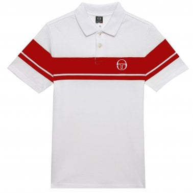 d2a81d70f067 Young Polo - White Red