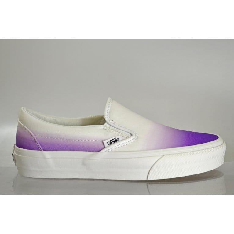 Vans Slip-on Dip Dye Purple/White   Natterjacks