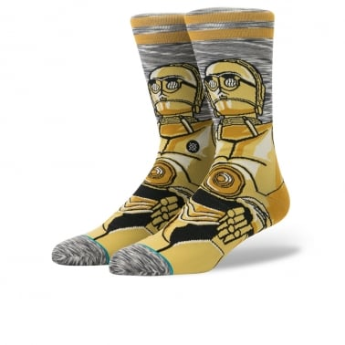 x Star Wars Android Socks