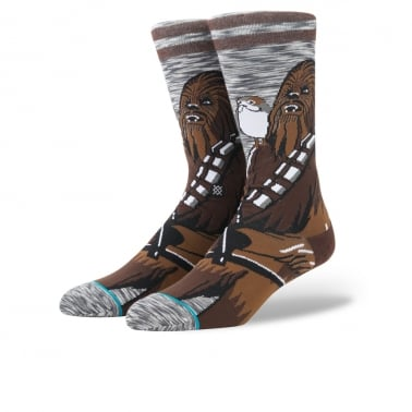 x Star Wars Chewie Pal Socks