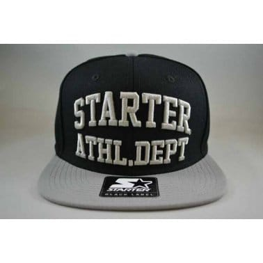 Starter 2 Tone Athl Snap Black/Grey