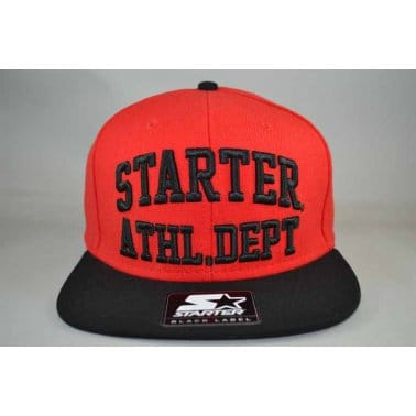 Starter 2 Tone Athl Snap Red/Black