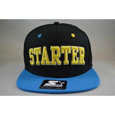 Starter Neon Snapback Black/cyan