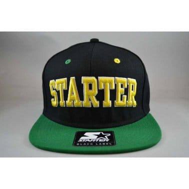 Starter Neon Snapback Black/Green