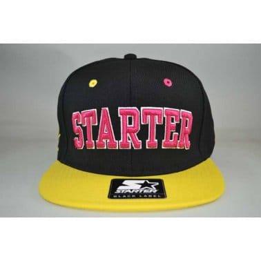 Starter Neon Snapback Black/Yellow