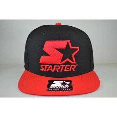 Starter 2 Tone Snap Black/red