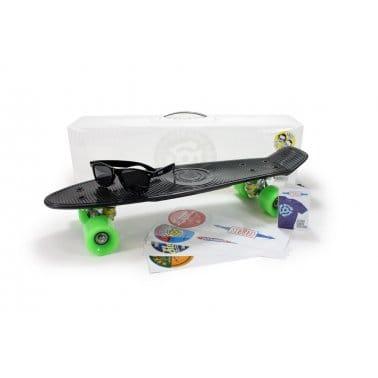 Stereo Skateboard Vinyl Cruisers Black