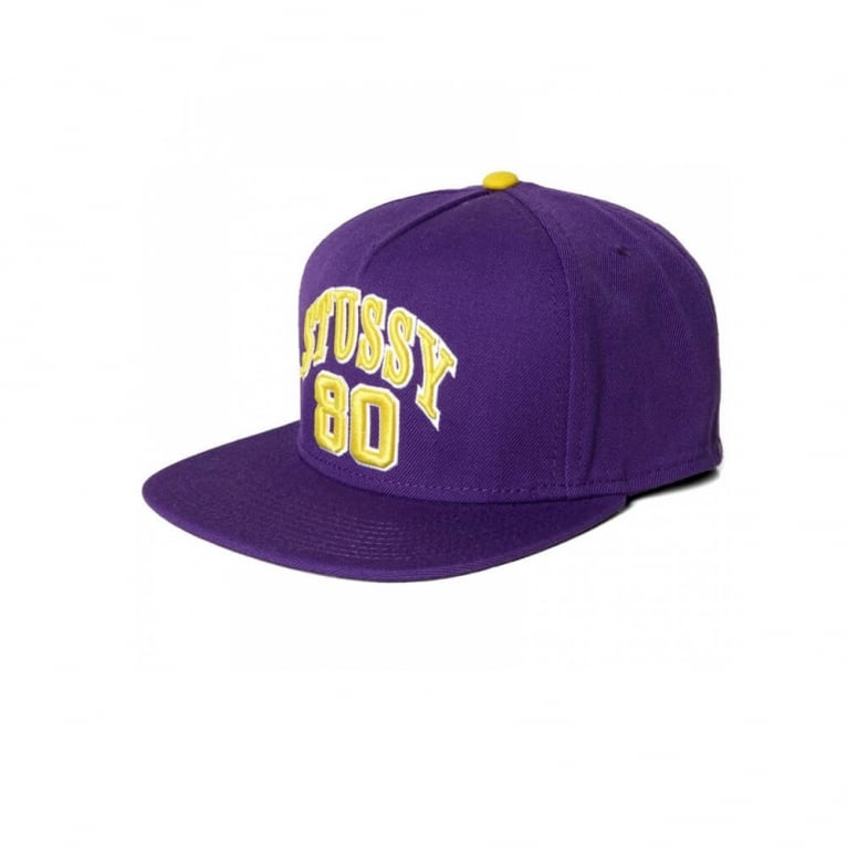 Stussy Athletic 80 Snapback - Purple