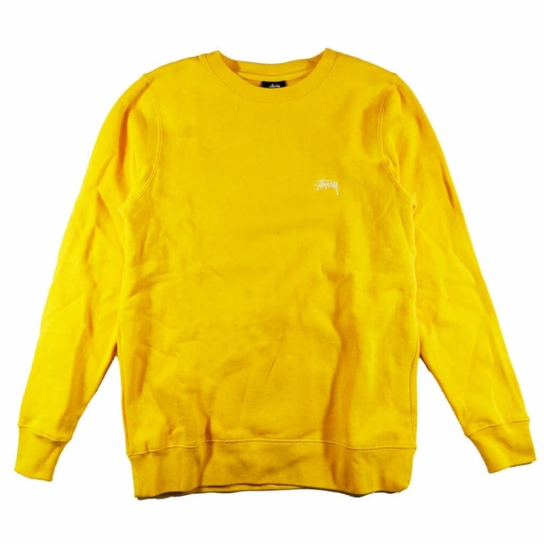 Stussy Back Arc Crew Sweatshirt