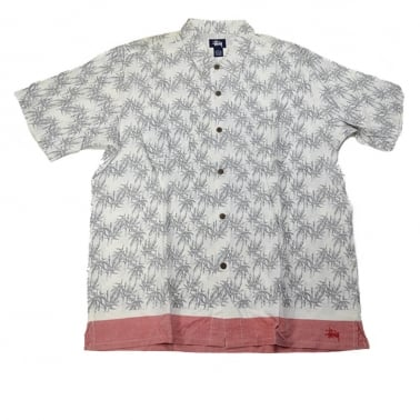Bamboo Jungle Shirt - White