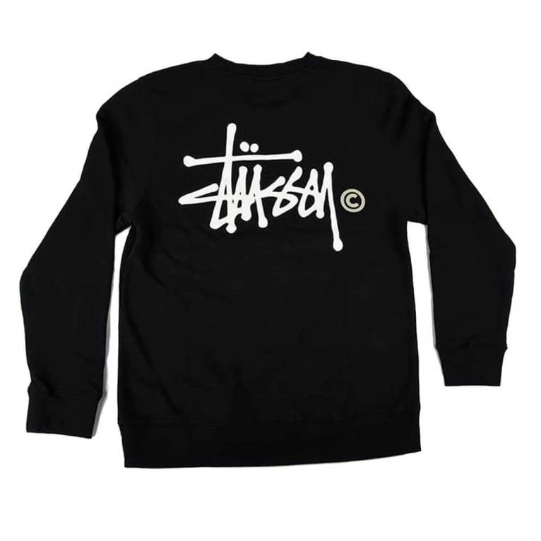 Stussy Basic Logo Crewneck Sweatshirt
