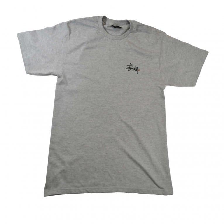 Stussy Basic Logo Tee - Grey