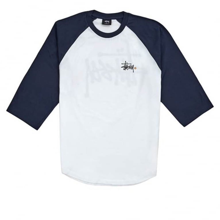 Stussy Basic Long Sleeve Raglan Tee