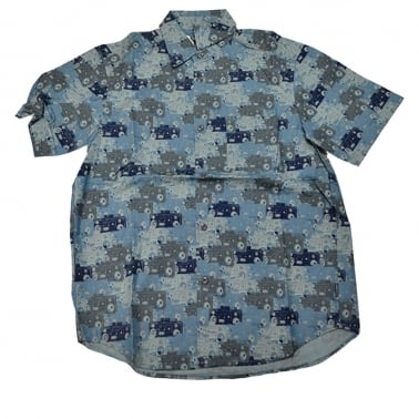 Boom Camouflage Shirt - Blue
