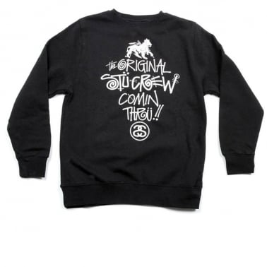 Comin Thru Crewneck Sweatshirt - Black