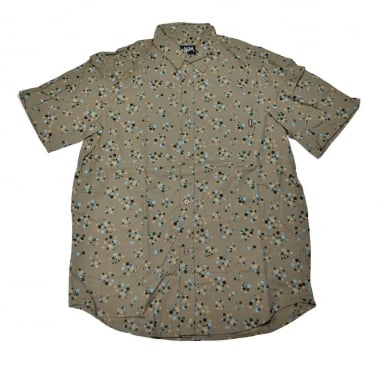 Dots Short Sleeve Shirt - Putty