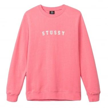 Felt Applique Crewneck Sweatshirt
