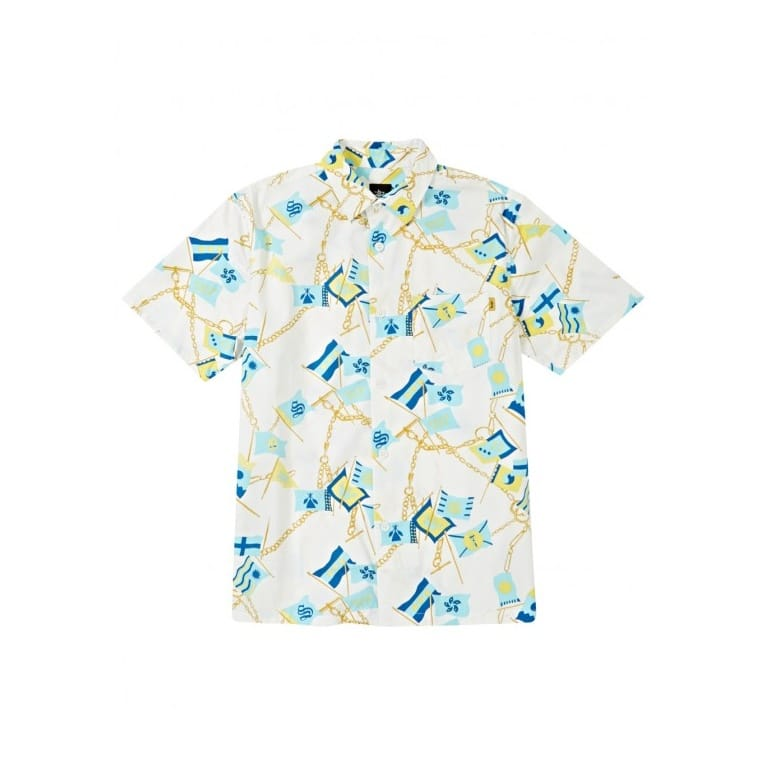 Stussy Flags Shirt - White