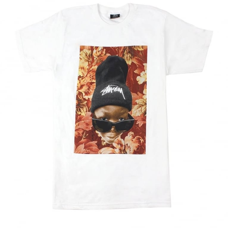 Stussy Flower Kid T-shirt - White
