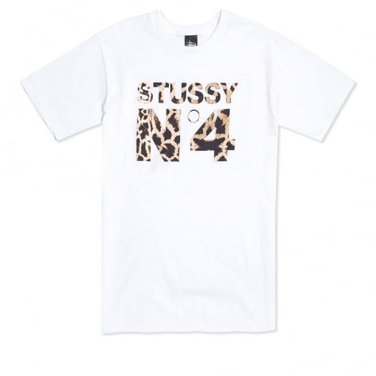 Stussy Giraffe No.4 T-shirt - White