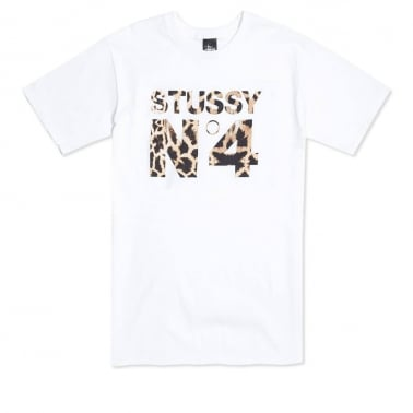 Giraffe No.4 T-shirt - White