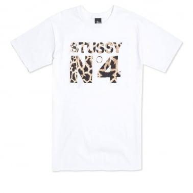 Giraffe No.4 T-shirt - White