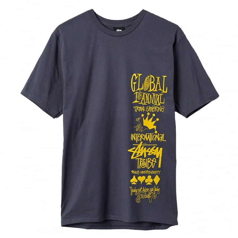 Stussy Global Gathering T-Shirt - Midnight
