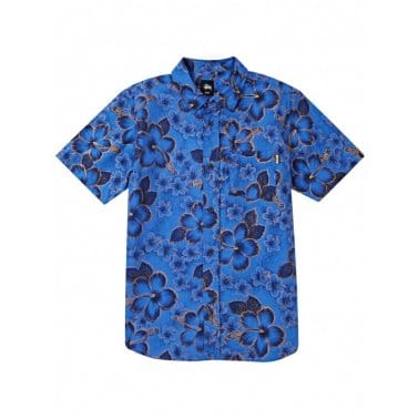 Gold Flake Shirt - Blue