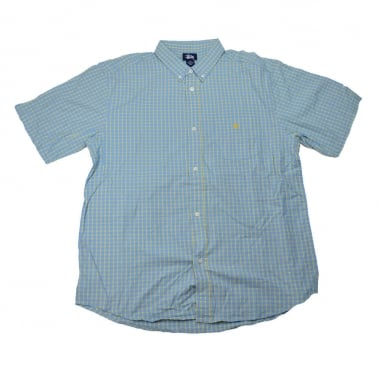 Grid Oxford Shirt - Sky