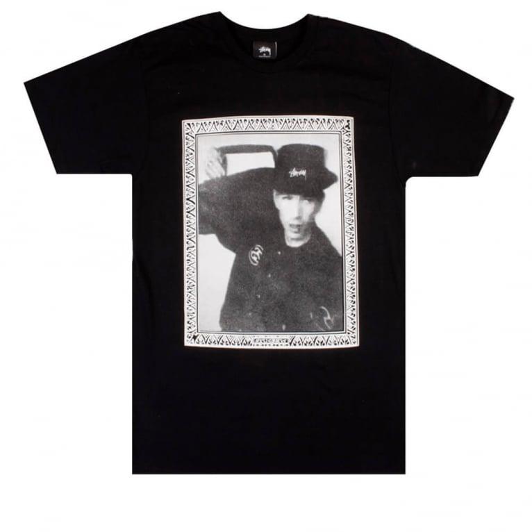 Stussy Hip Hop Frame Tee Black