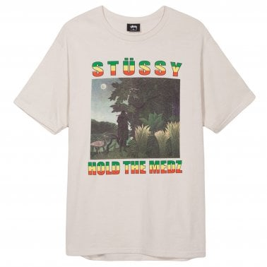 Hold The Medz T-Shirt - Stone