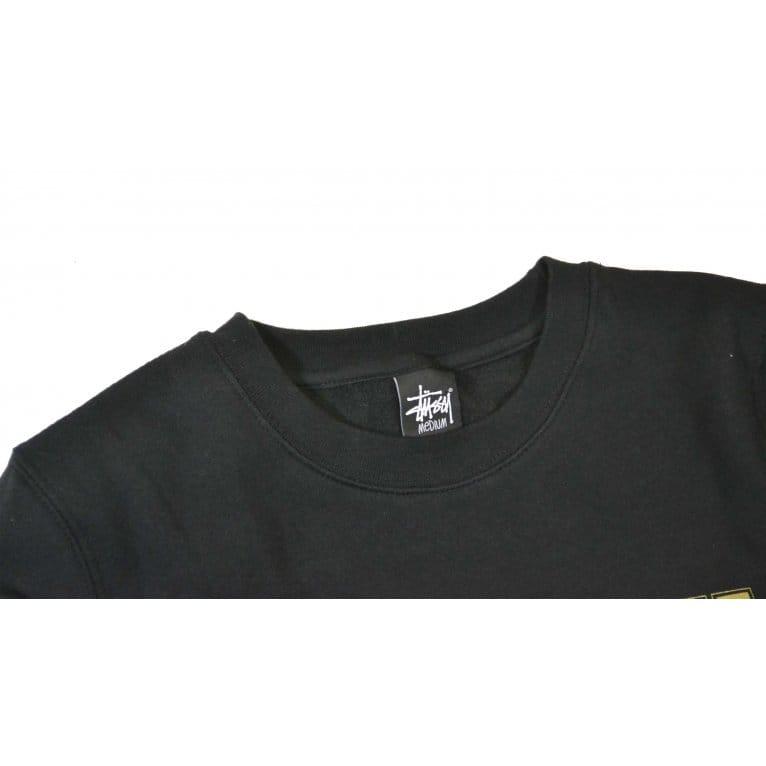 Stussy IST Crew Sweatshirt - Black